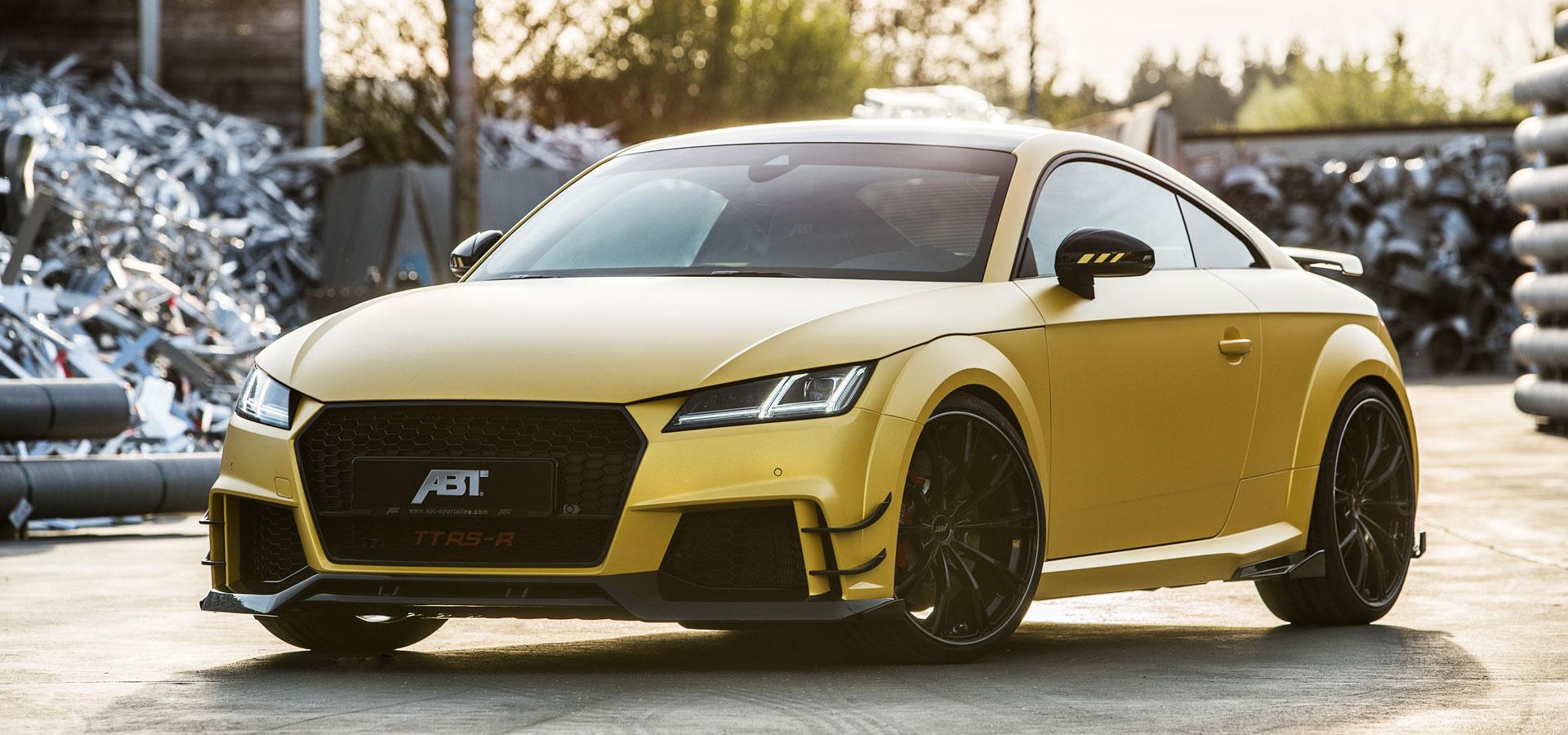 Audi Tt Rs >> Abt Tt Rs R Abt Sportsline
