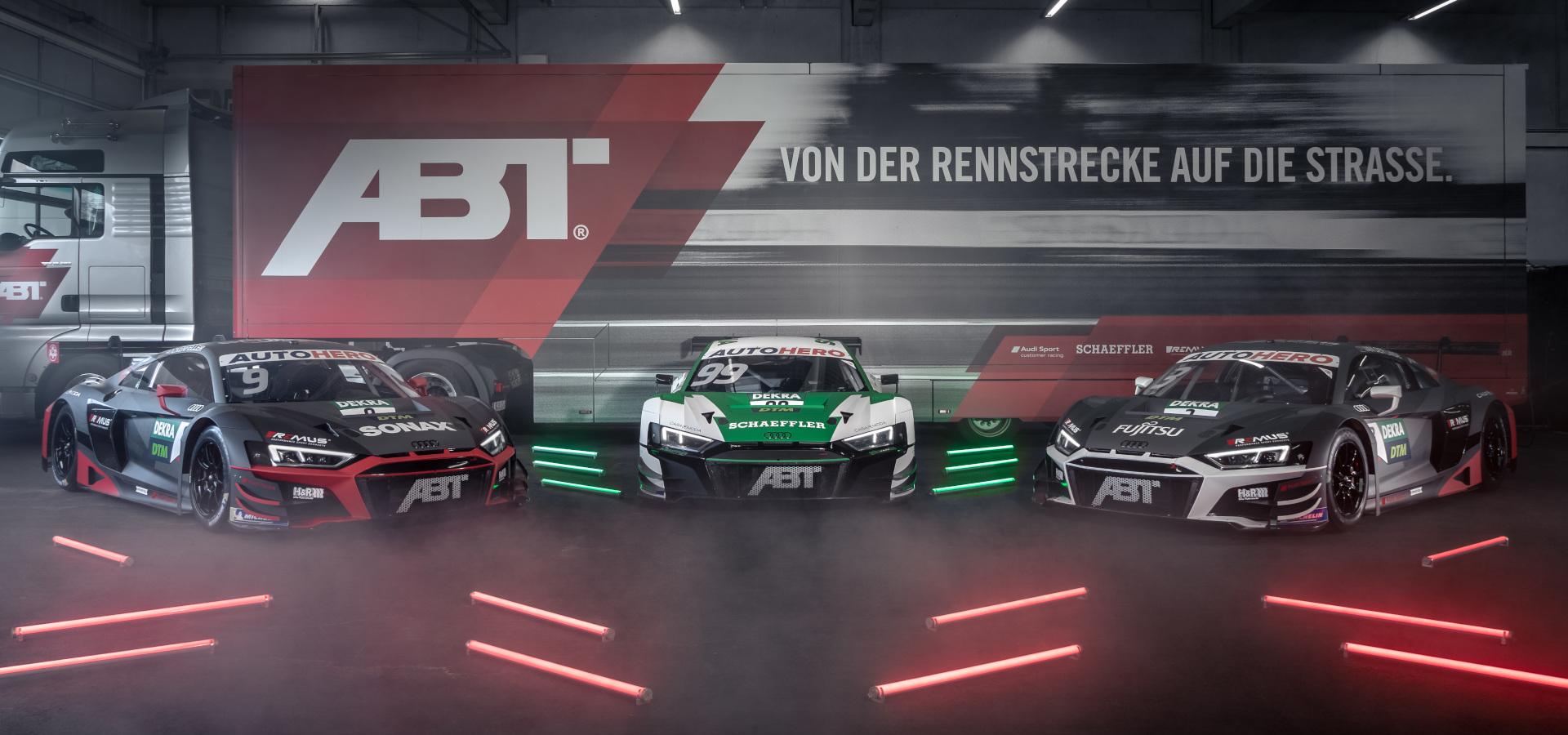 DTM - Audi Tuning, VW Tuning, Chiptuning von ABT Sportsline.